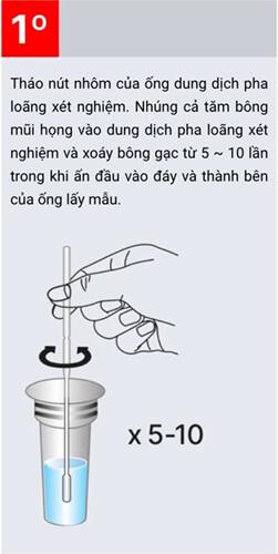 Cách dùng KIT test COVID-19 Biocredit