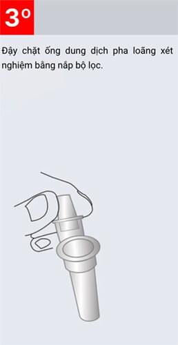KIT test COVID-19 BIOCREDIT đơn giản