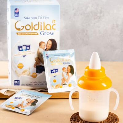 sữa non tổ yến hỗ trợ hệ tiêu hoá