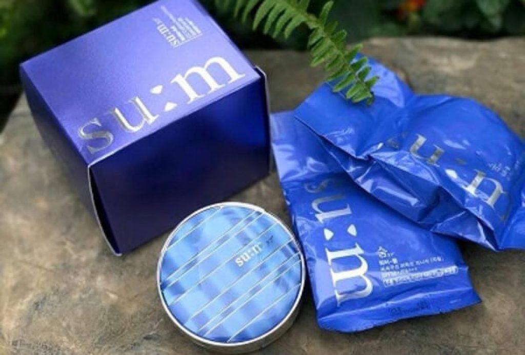 phấn nước 10. Cushion che khuyết điểm tốt Su:m37 Water-full CC Perfect Finish SPF50/ PA+++