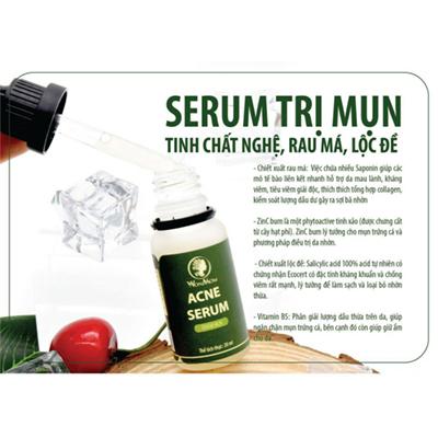 serum trị mụn tái tạo da wonmom